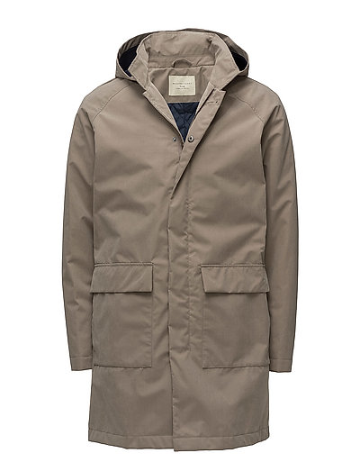 SHHVICTOR MAC COAT - WALNUT