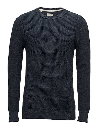 SHNRAF CREW NECK - DARK BLUE