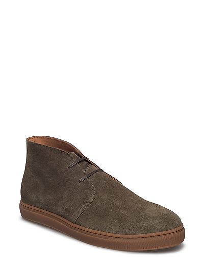 SHNDEMPSEY CHUKKA SNEAKER - GREEN OLIVE