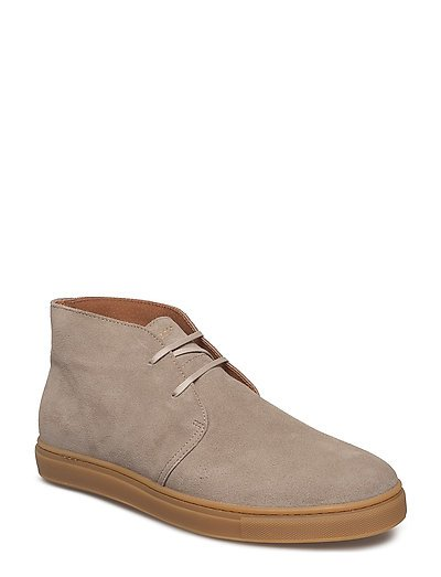 SHNDEMPSEY CHUKKA SNEAKER - SILVER MINK