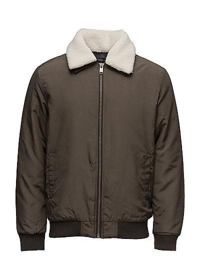 SHXBING JACKET - BLACK OLIVE