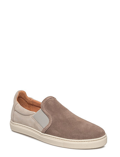 SHNDAVID NEW SUEDE SLIPON - WALNUT