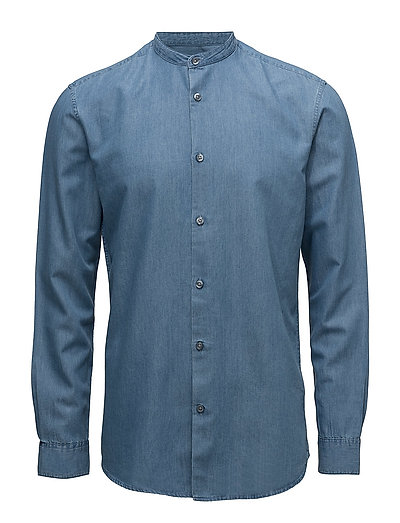 SHDTWOTEN SHIRT LS SOLID - LIGHT BLUE