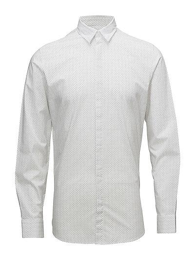 SHDONEELAN-COLLAR SHIRT LS - BRIGHT WHITE