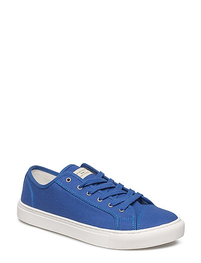 SHHJEAN CANVAS SNEAKER - TRUE BLUE