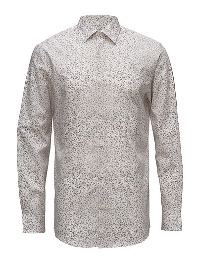 SHDONEPEN-FRELLY SHIRT LS AOP - WHITE