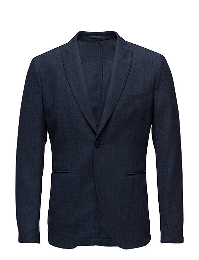SHDONEVENICE STRUCTURE BLAZER - DARK BLUE