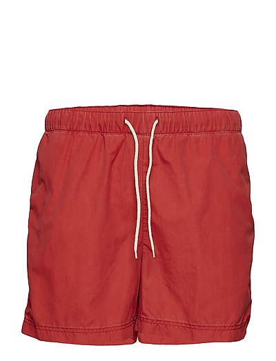SHHCLASSIC WASHED SWIMSHORTS - POMPEIAN RED