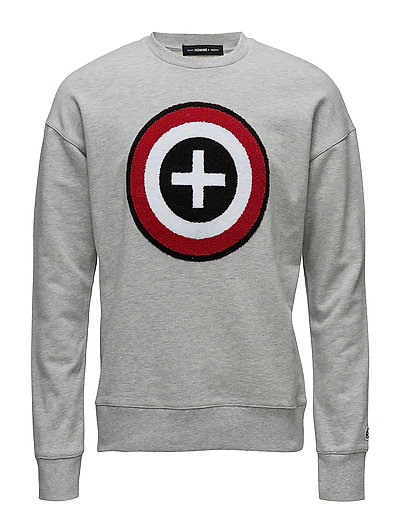 SHXROBY CREW NECK SWEAT - LIGHT GREY MELANGE