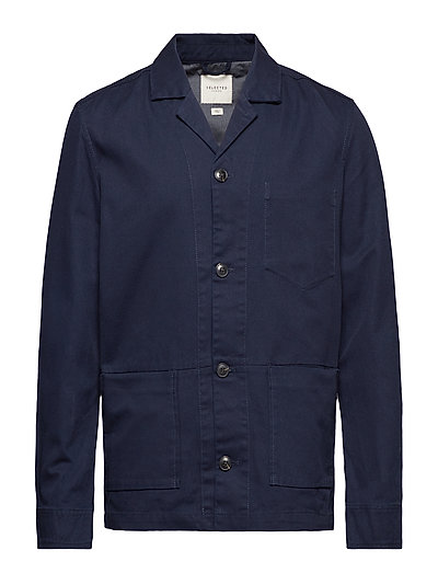 SLHANTON BLAZER JACKET W - NIGHT SKY