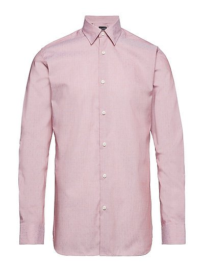 SLHREGPEN-TOM SHIRT LS DOBBY B NOOS - BARBADOS CHERRY