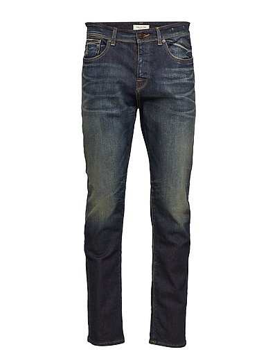 SLHTAPERED-TOBY 1454 D.BLU ST JNS W NOOS - DARK BLUE DENIM