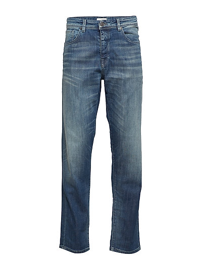 SLHTAPERED-TOBY 6135 D.BLU ST JNS W NOOS - DARK BLUE DENIM