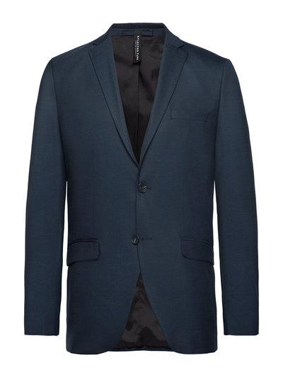 SLHSLIM-MYLOSTATE FLEX DK BL BLZ B - blazers à boutonnage simple - dark blue