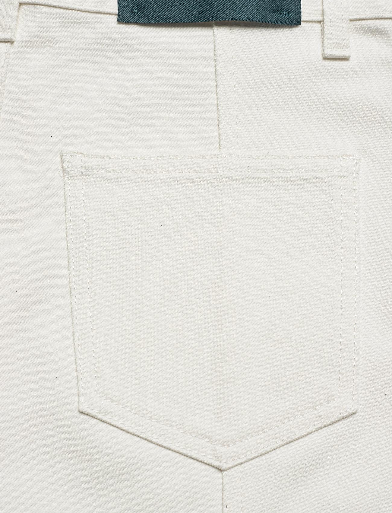 Self Cinema - Womens Denim Skirt - denim skirts - white - 3