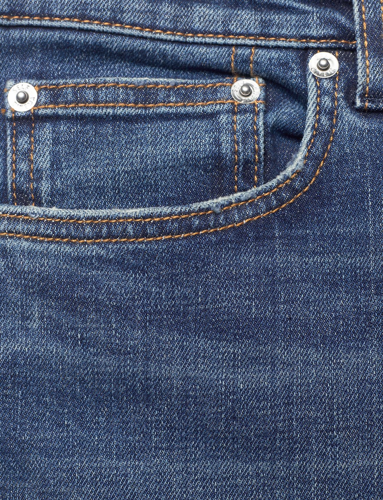 Self Cinema - Mens Slim Jean - slim jeans - mid blue vintage - 2