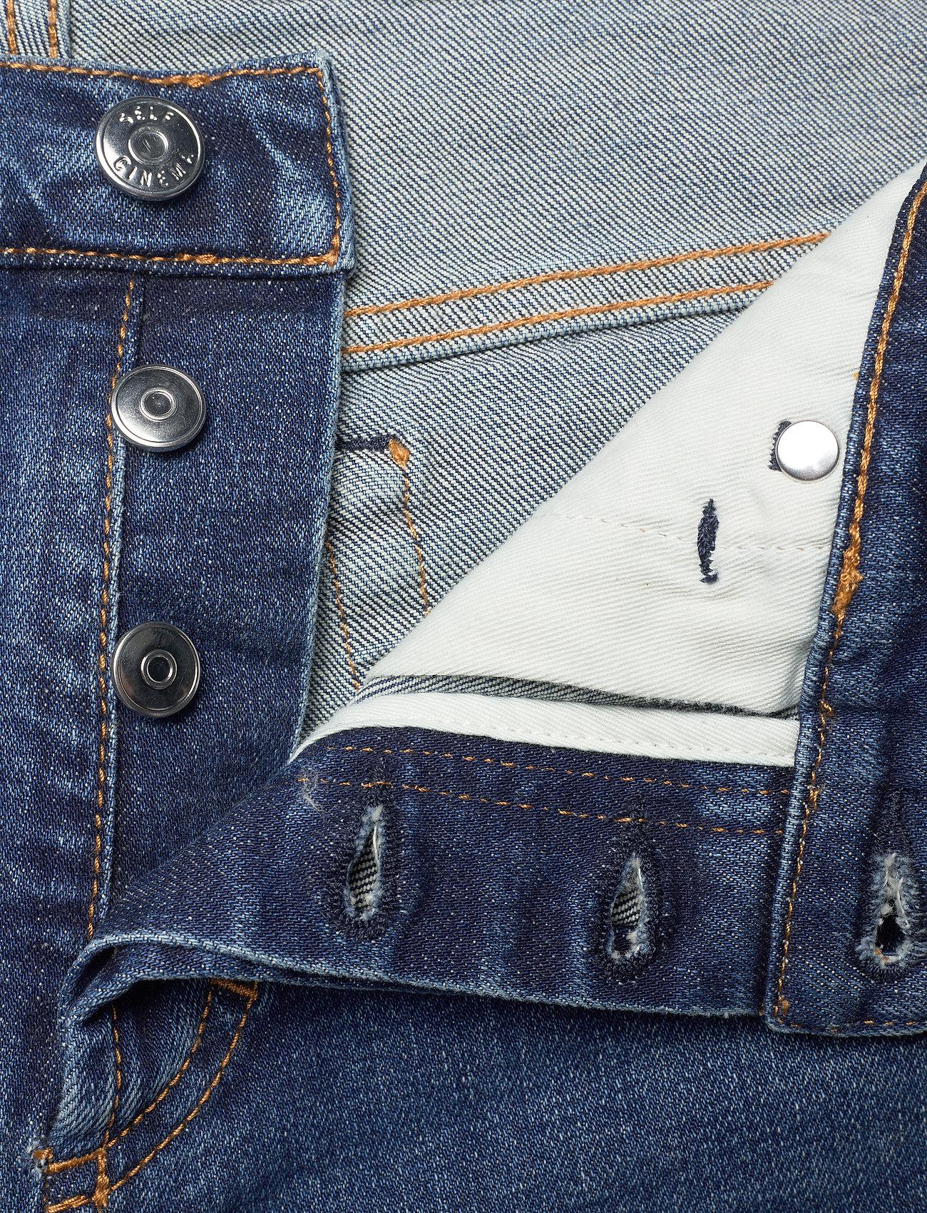 Self Cinema - Mens Slim Jean - slim jeans - mid blue vintage - 3
