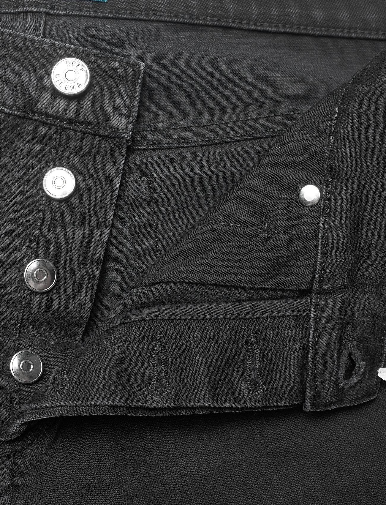 Self Cinema - Mens Slim Jean - slim jeans - washed black - 3