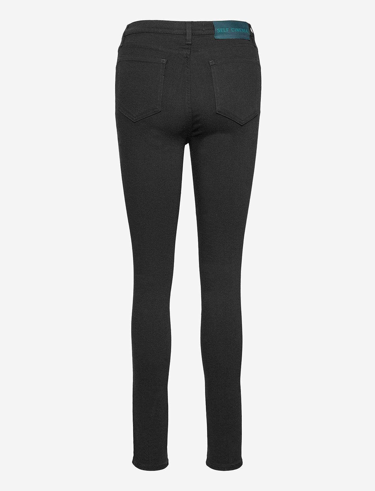 Self Cinema - Womens Skinny Jean - skinny jeans - stay black - 1