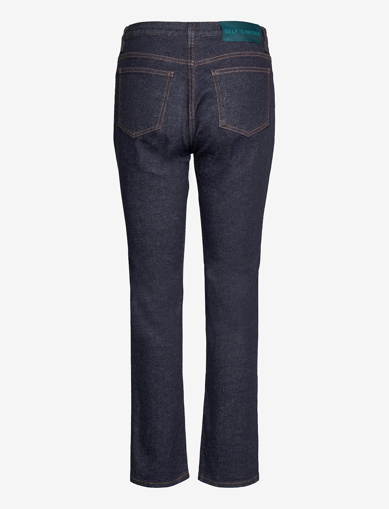 Self Cinema - Womens Slim Straight Jean - slim jeans - indigo rinse - 1