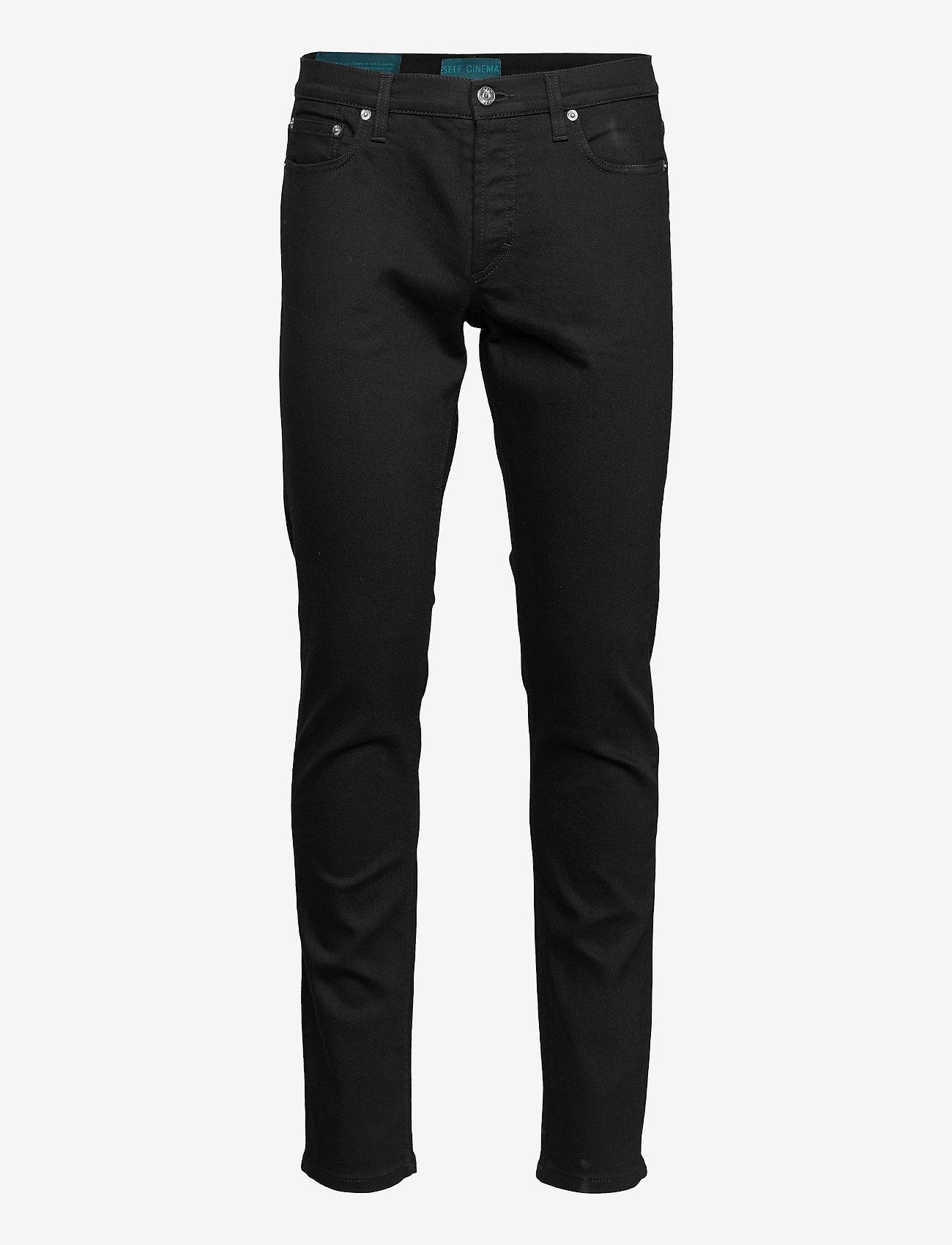 Self Cinema - Mens Slim Jean - slim jeans - stay black - 0