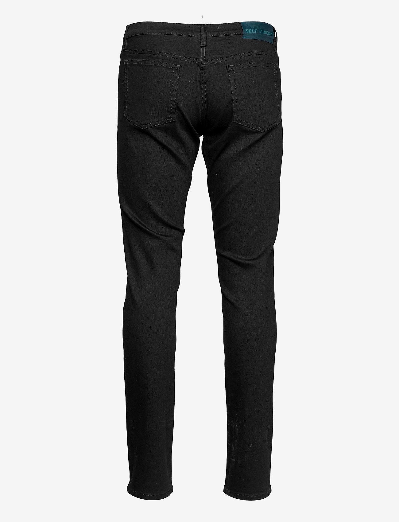 Self Cinema - Mens Slim Jean - slim jeans - stay black - 1