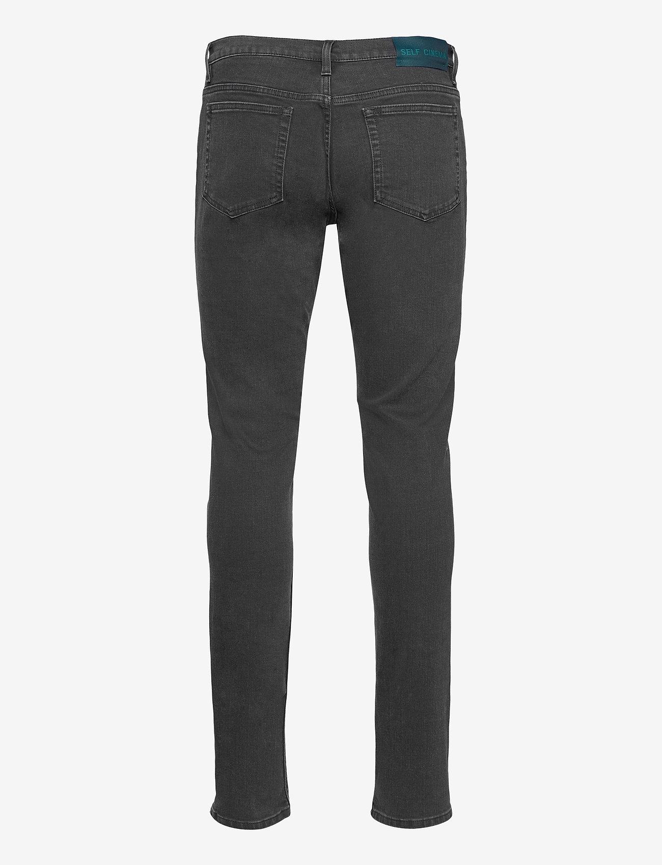 Self Cinema - Mens Slim Jean - slim jeans - washed black - 1