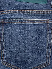 Self Cinema - Mens Slim Jean - slim jeans - mid blue vintage - 4
