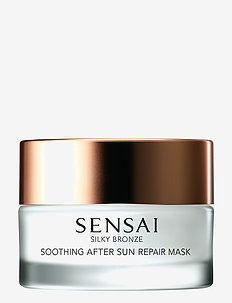 Silky Bronze Soothing After Sun Repair Mask - ansiktsmasker - no color