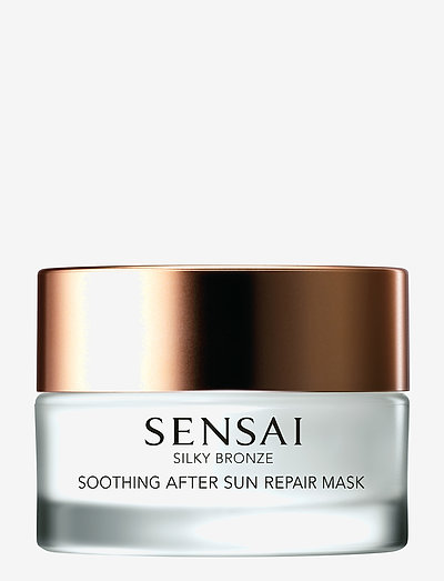 Silky Bronze Soothing After Sun Repair Mask - kasvonaamiot - no color