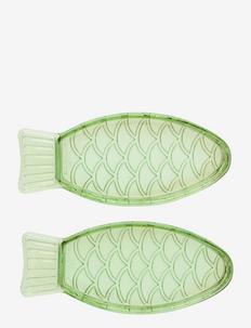 FISH DISH SMALL - serverings & anretningsfade - green