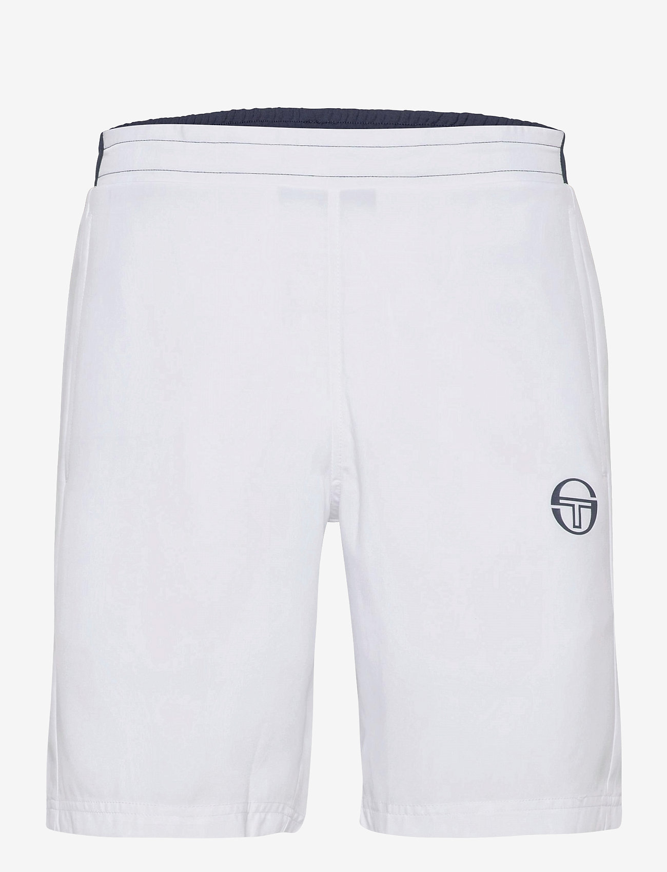 Sergio Tacchini - CLUB TECH SHORTS - training korte broek - white/navy - 0