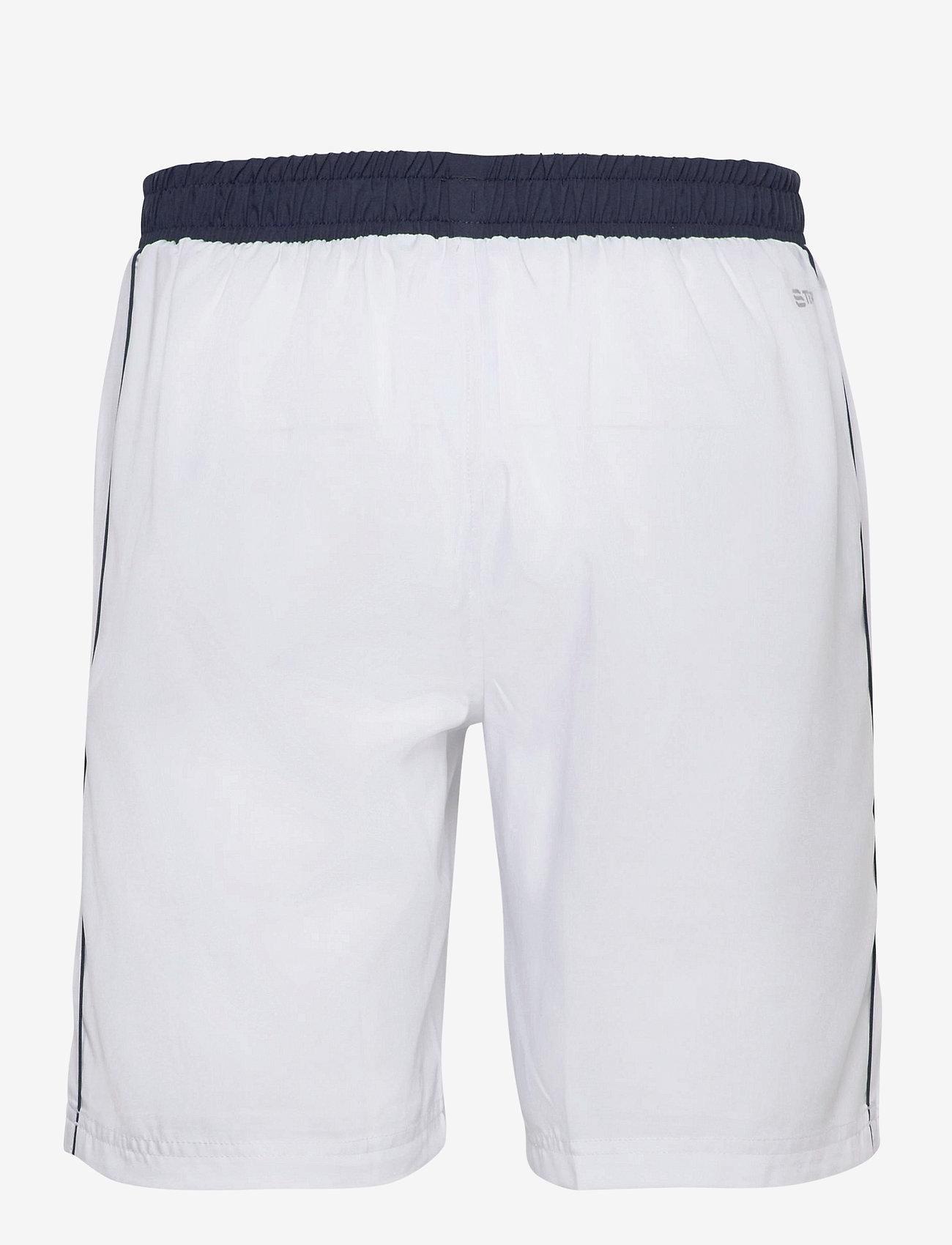 Sergio Tacchini - CLUB TECH SHORTS - training korte broek - white/navy - 1