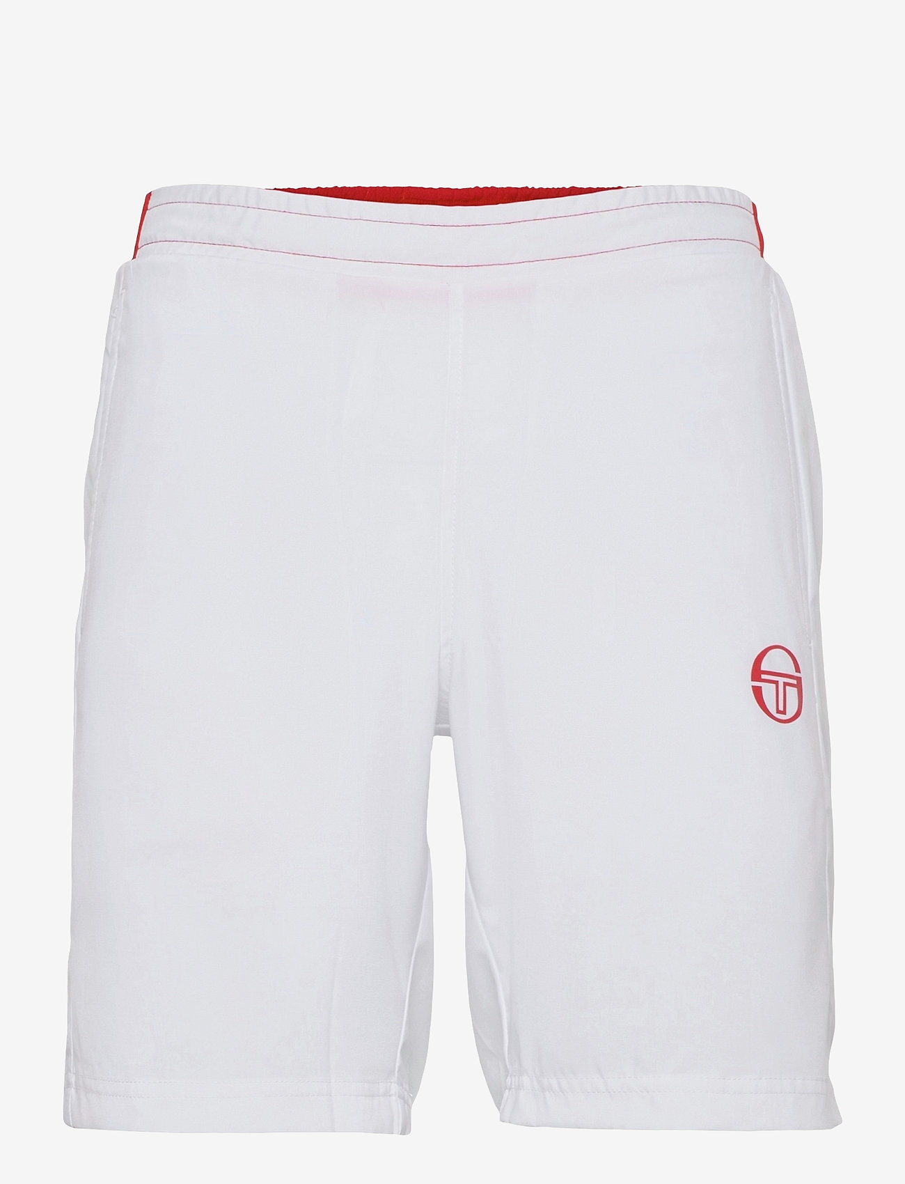 Sergio Tacchini - CLUB TECH SHORTS - træningsshorts - white/red - 0
