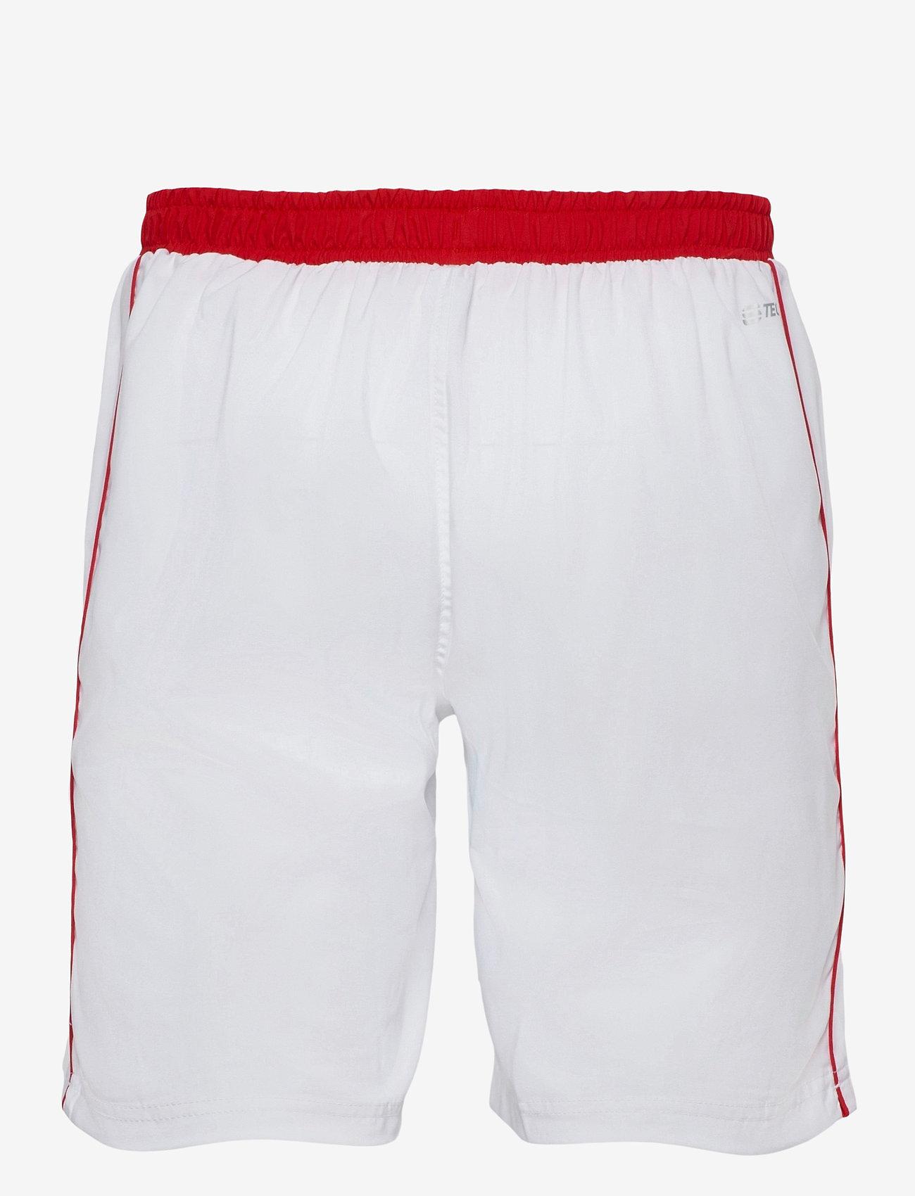 Sergio Tacchini - CLUB TECH SHORTS - træningsshorts - white/red - 1
