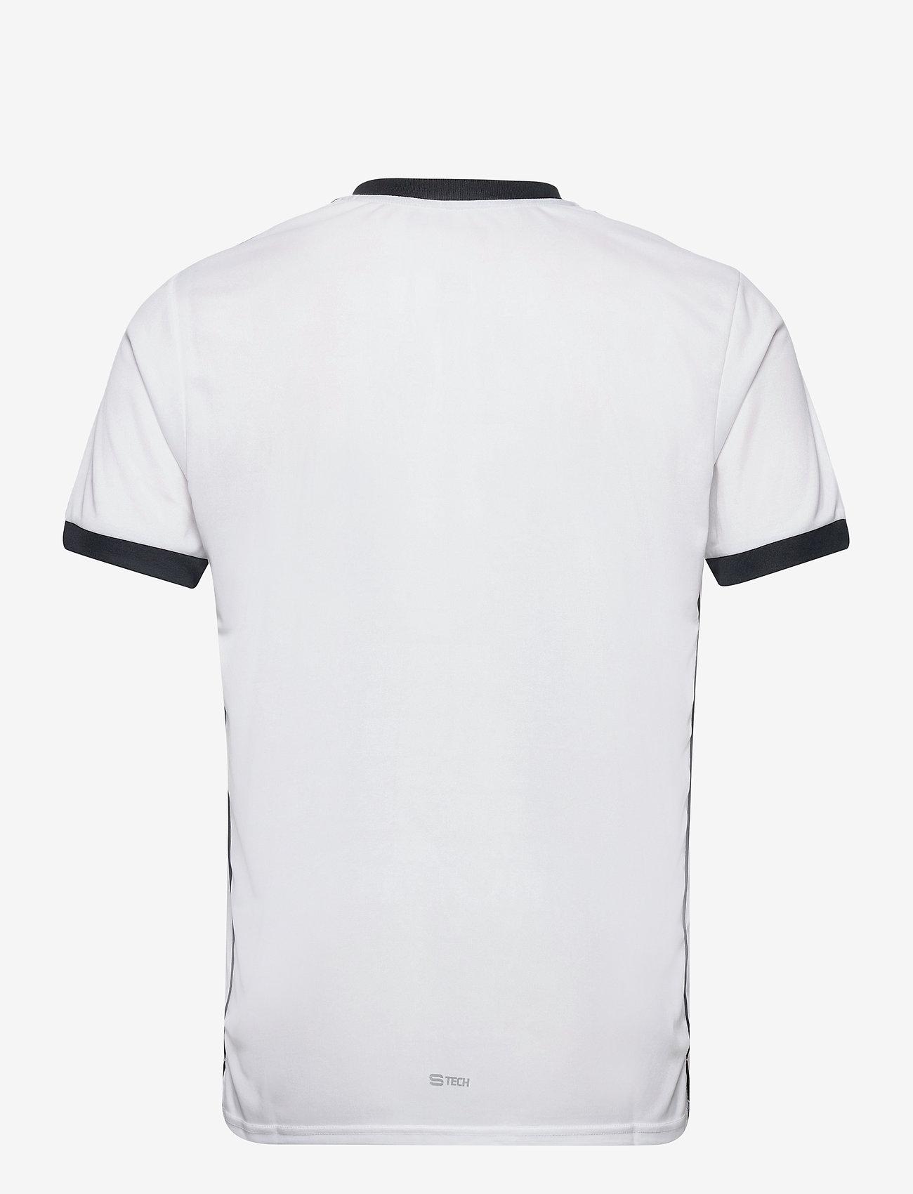 Sergio Tacchini - CLUB TECH T-SHIRT - t-shirts - white/navy - 1