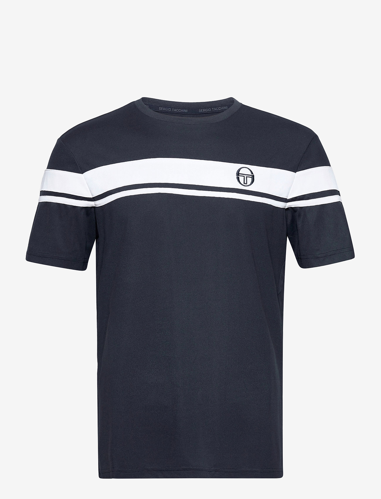 Sergio Tacchini - YOUNG LINE PRO T-SHIRT - t-shirts - navy/white - 0