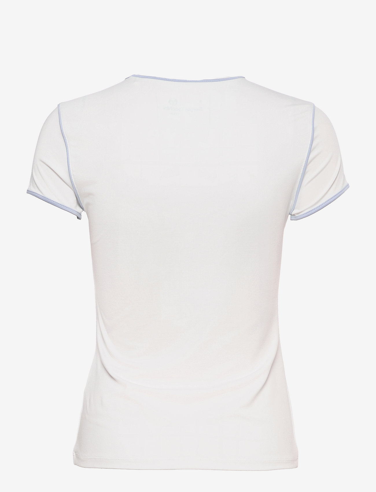 Sergio Tacchini - TCP TSHIRT SS WOMAN - t-shirts - 135 blanc de blanc/kentucky blue - 1