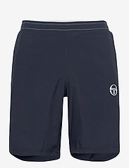 Sergio Tacchini - CLUB TECH SHORTS - trainingsshorts - navy/white - 0