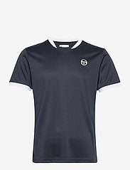 Sergio Tacchini - CLUB TECH T-SHIRT - t-shirts - navy/white - 0