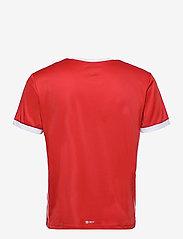 Sergio Tacchini - CLUB TECH T-SHIRT - t-shirts - red/white - 1