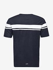 Sergio Tacchini - YOUNG LINE PRO T-SHIRT - t-shirts - navy/white - 1