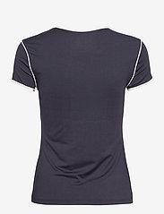 Sergio Tacchini - TCP TSHIRT SS WOMAN - t-shirts - 205 night sky/blanc de blanc - 1