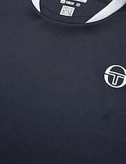 Sergio Tacchini - CLUB TECH T-SHIRT - t-shirts - navy/white - 3