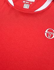 Sergio Tacchini - CLUB TECH T-SHIRT - t-shirts - red/white - 2