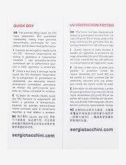 Sergio Tacchini - CLUB TECH T-SHIRT - t-shirts - white/navy - 2
