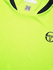 Sergio Tacchini - CLUB TECH T-SHIRT - t-shirts - yellowflou/black - 3