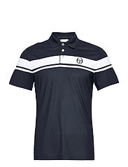YOUNG LINE PRO POLO - NAVY/WHITE