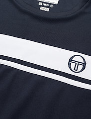 Sergio Tacchini - YOUNG LINE PRO T-SHIRT - t-shirts - navy/white - 3