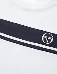 Sergio Tacchini - YOUNG LINE PRO T-SHIRT - t-shirts - white/navy - 2